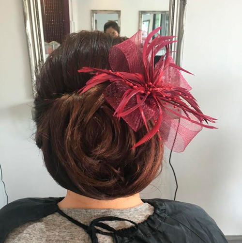 Hairup with accessories